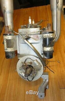 Vintage Quincy Looper Racing Powerhead with exhaust stacks ++ # FB27 Super B