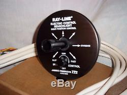 Vintage Ray Line Marine Searchlight Nos