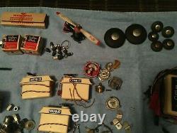 Vintage Rc Engine Motor Parts Miscellaneous Junk Drawer Lot Boat Car Plane Parts