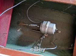 Vintage Remote control RC Wooden ship model parts partial assembly