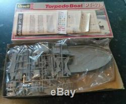 Vintage Revell 172 Patrol Torpedo Boat PT109 Model Ship Kit sealed parts