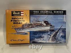 Vintage Revell 1/56 Sport Fishing Boat, 1996 SSP reissue, H-387, parts sealed