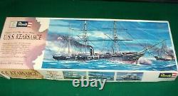 Vintage Revell USS Kearsarge Civil War Steam Sloop Model Kit Parts Sealed H-391