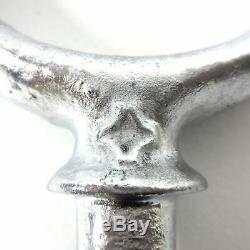 Vintage Row Boat Sailing Parts Hardware 4 Oar Locks 2 Row Locks 1 Bow Chock