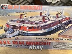 Vintage SEALED PARTS Airfix BHC SR. N4 Hovercraft Model Kit unbuilt Boat -13