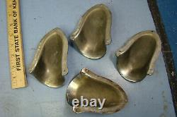 Vintage Sail Crusier Boat Parts, Nickel Plate Brass, Kainer Sconce Shape Thing