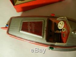 Vintage Schuco Elektro-delfino 5411 Navico-vintage Schuco Toy Boat- Parts/repair