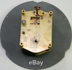 Vintage Seth Thomas Us Navy Boat Ships Clock Movement Parts