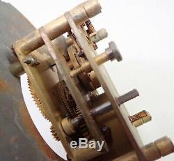Vintage Seth Thomas Us Navy Boat Ships Clock Movement Parts Repair