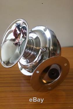 Vintage Spartan 12 volt boat horn. Mint Deadstock, never installed Circa 1958