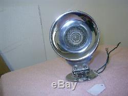 Vintage Sparton Boat Horn Chrome Works 12v Fd19 4-19