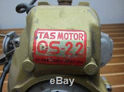 Vintage Tas Motor QS-22 TOB-12 Boat 22cc Outboard Motor