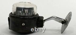 Vintage Taylor Compass Dash Mount Accessory Car Truck Rat Rod Boat TROG Jalopy