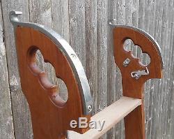 Vintage Teak Boarding Ladder, transom chris craft egg harbor pacemaker exc cond