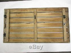 Vintage Teak Wood OMC Cruiser Boat Floor Cover Deck Hatch