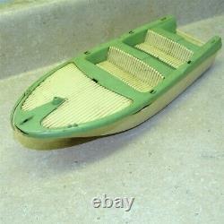 Vintage Tonka Clipper Boat, Parts Piece, Green, Original, #2
