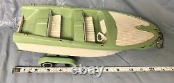 Vintage Tonka Clipper Boat & Trailer Parts