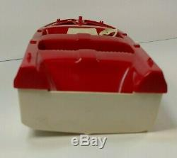 Vintage Tonka Clipper Toy Boat And Trailer Parts Only AS IS Plastic Broken 1960s