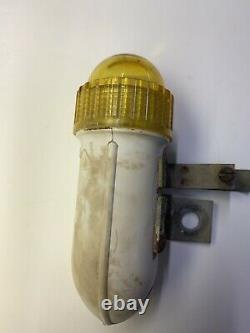 Vintage Twin Delta Bicycle Light-Red Boat Yellow Please Read Description Parts