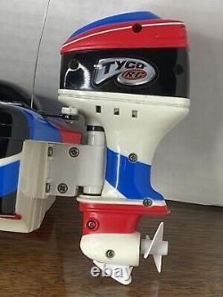 Vintage Tyco Sea Arrow RC remote control Speed Boat FOR PARTS READ