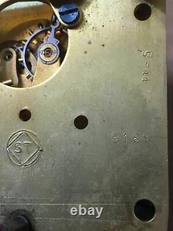 Vintage WWII Era US Navy Seth Thomas Mark I Boat Ships Clock Movement Parts #3