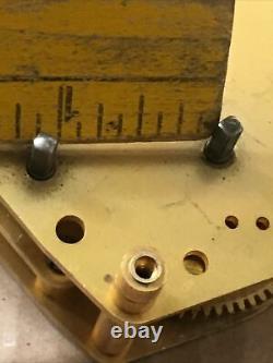 Vintage WWII Era US Navy Seth Thomas Mark I Boat Ships Clock Movement Parts #4