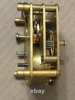 Vintage WWII Era US Navy Seth Thomas Mark I Boat Ships Clock Movement Parts #8