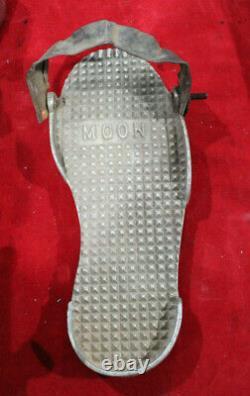 Vintage aluminum MOON Gas PEDAL Hot Rod DRAG RAcing Custom Dragster Race Car old