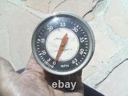 Vintage boat parts airguide speedometer marine