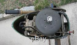 Vintage kiekheafer Mercury Mark 6 Outboard
