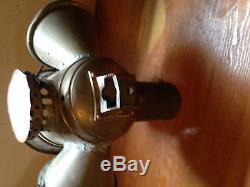 Vintage oil burning tug boat light search marker lights 1903 solar model 23f