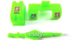 Vtg 1994 G. I. Joe ARAH Battle Corps Manta Ray Green Parts Accessory Lot Clean