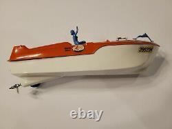 Vtg 56' USED Monogram Water Devil Roundabout Boat Model Assembled for Parts