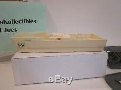 Vtg Hasbro Gi Joe 1985 Uss Flagg Original Parts Admiral's Boat & Launch Davit
