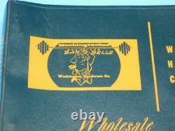 Washington Hardware Sporting Goods Dealer Catalog 1958 Guns Boat Parts Bar Bells